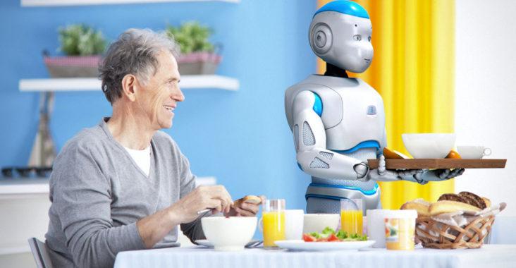 Robot Romeo aide a domicile